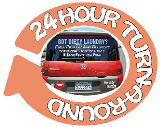 24 hour Service 7 days a week.